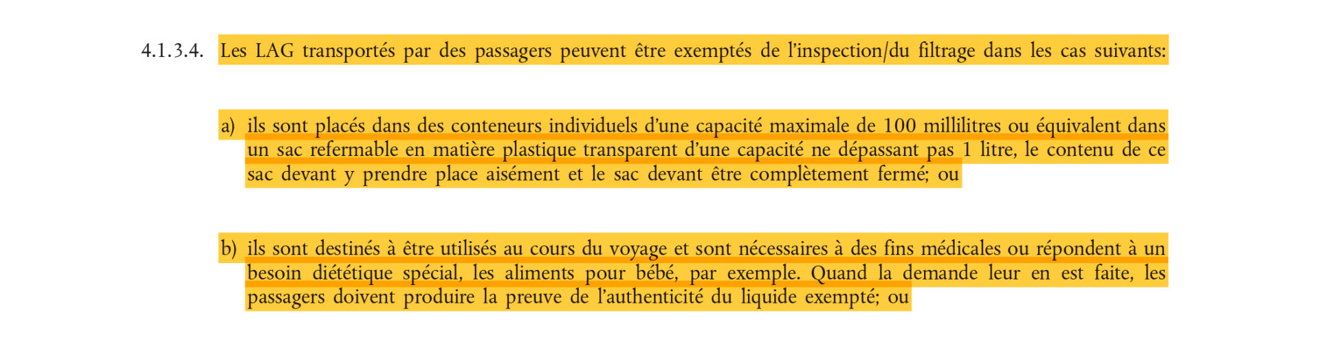 journal officiel reglementation aerienne extrait zoom page 14