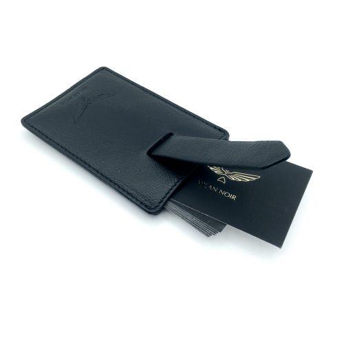 Porte-cartes noir